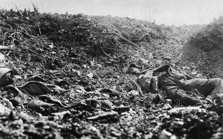 Csendélet a tíz hónapig tartó Verduni csata után