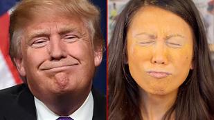 A tökéletes Donald Trump-smink titka: a Cheetos alapozó