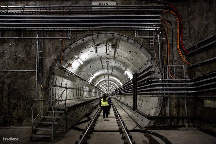 A 4-es metró beruházásáról jelentett?