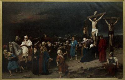 Munkácsy Mihály: Golgota (1884)