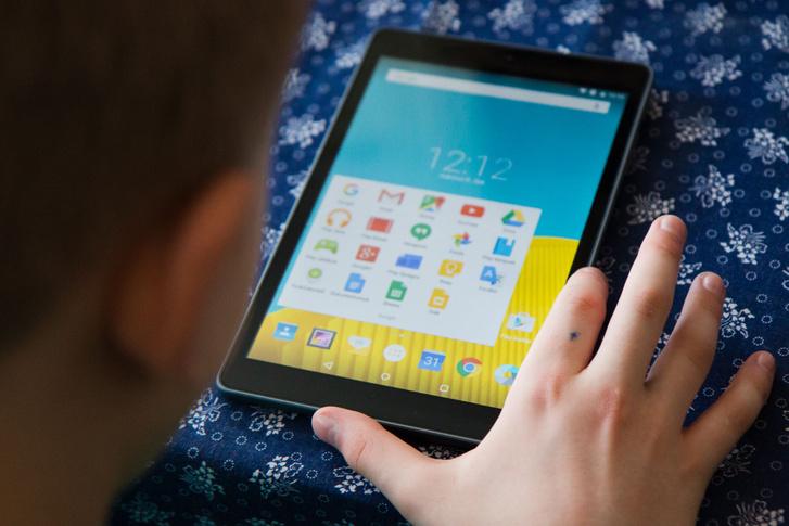 A Vodafone tabletje egy kecskeméti iskolában