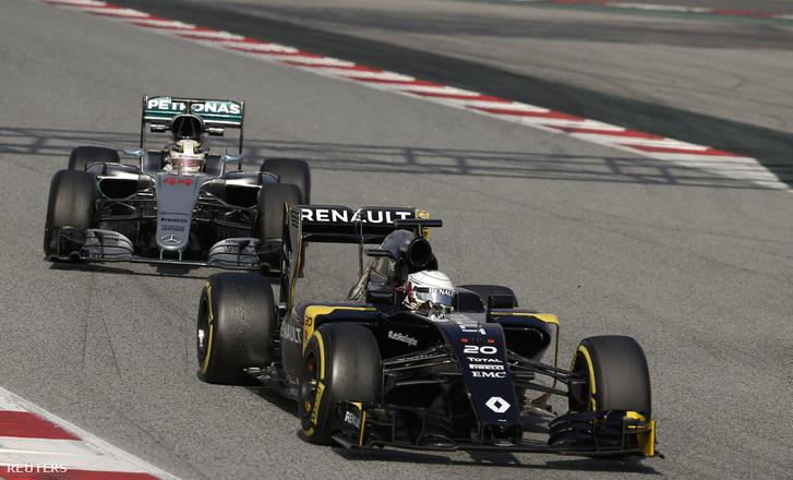 Renault egy Mercedes előtt? Az új időmérővel valószínűleg könnyebben előfordulhat
