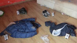 A karcagi rablónak három fiú ruháira volt nagy szüksége