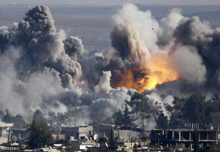 Légitámadások Kobaniban (2014.)