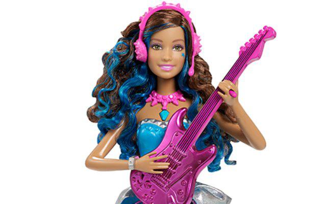 Barbie, a rocksztár