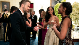 Az Obama-lányok egyike biztosan odavan Ryan Reynoldsért
