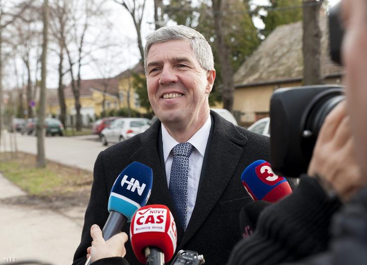 Bugár Béla a Most-Híd szlovák-magyar vegyespárt elnöke