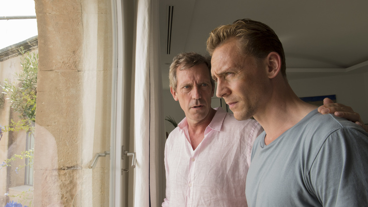 Hugh Laurie és Tom Hiddleston a Night Managerben