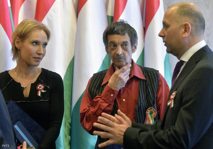 Bombera Krisztina, Galkó Balázs és Kránitz László