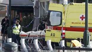 Lövöldözés Brüsszelben: terrorellenes akció zajlik