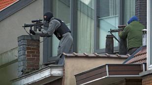 Elfogták a két megszökött fegyverest, akik rendőrökre lőtte Brüsszelben
