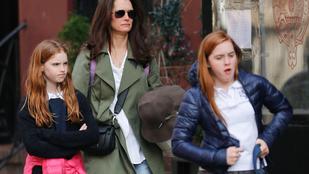 Brooke Shields elugrott a lányaiért az iskolába