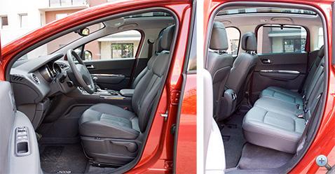 Az ülés kényelmes, és jó magasan ülhet a sofőr
