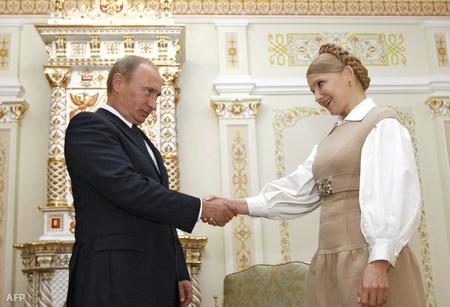 Julia Tyimosenko megegyezett Putyinnal