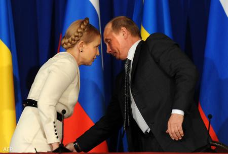 Tyimosenko és Putyin