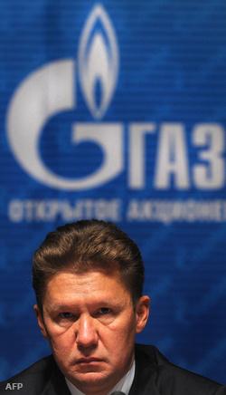 Alexander Miller Gazprom vezér