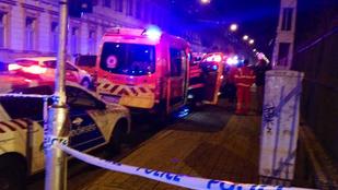 Ketten csúnyán összeégtek a budapesti gázrobbanásban