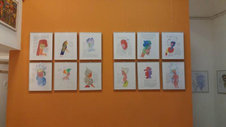 Balassa Mária grafikái