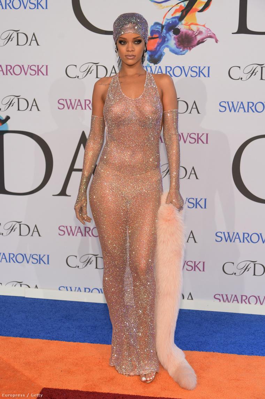 A CFDA díjátadón viselt ruha