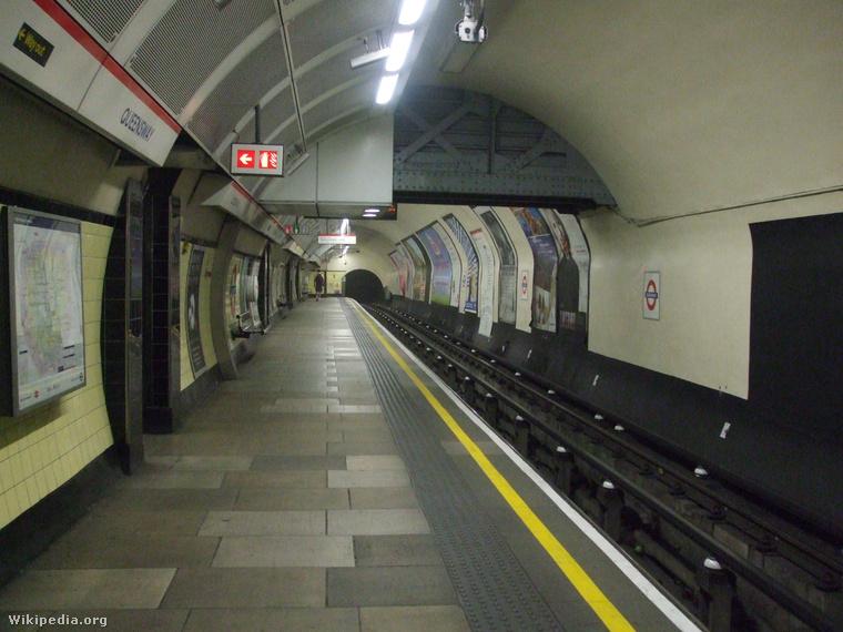 Ilyen az állomás, amikor Winston Churchill épp nem garázdálkodik a helyszínen