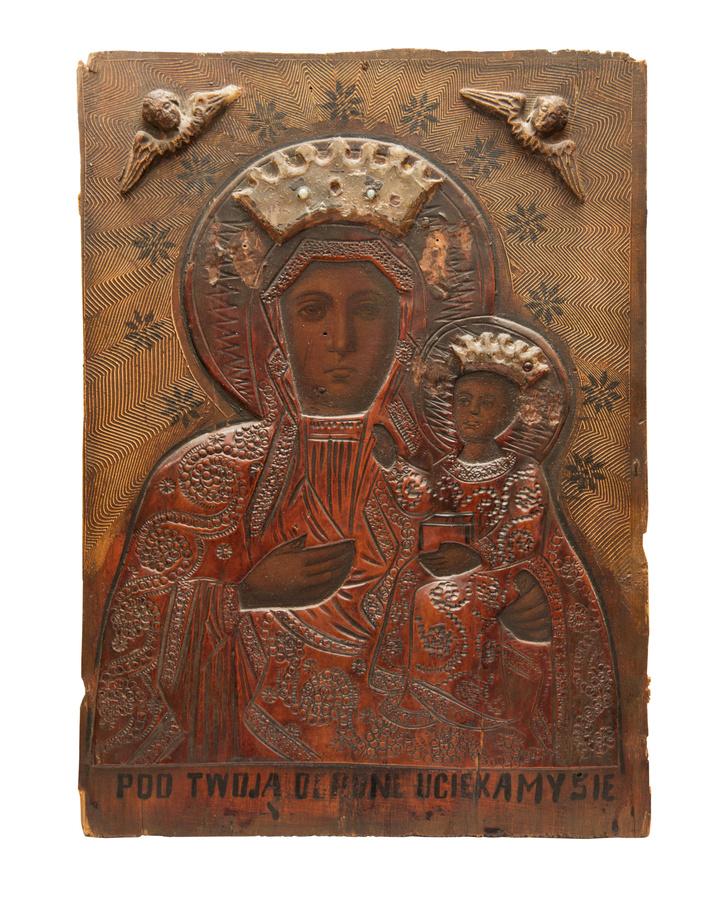 A Częstochowai Madonna - 18. sz. vége, Pálos Sziklakolostor, Budapest