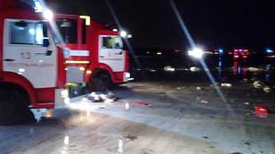 Lezuhant egy utasszállító gép Oroszországban, 62 ember meghalt