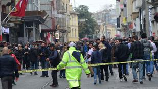 Hatalmas robbanás rázta meg Isztambul belvárosát