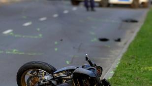 Meghalt egy motoros a 17. kerületben