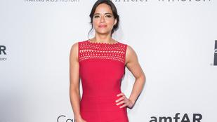 Michelle Rodriguez szépségében most sem csalódtunk