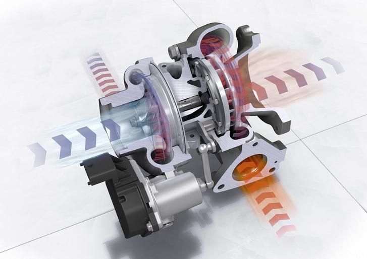 Dynamic Boost: gázelvételkor nem zár a pillangószelep, hanem az üzemanyag-befecskendezés szünetel, így a turbónak nem kell újra felépítenie a nyomást, gyorsabb a gázreakció
