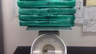 27 kg kokainnal akart felszállni a repülőre