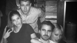 Palvin Barbara Nick Jonas-szal bulizott Vegasban