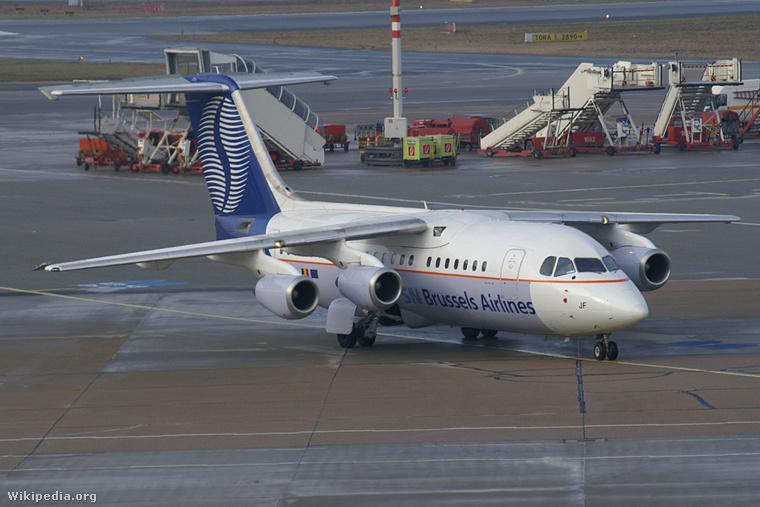 SN Brussels Airlines B462 OO-DJF 20060217 HAM