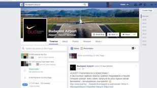 Kezdődik a felháborodás a Budapest Airport Facebookján