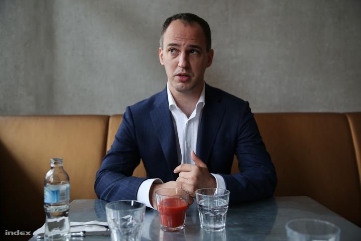 Szigetvári Viktor egy korábbi interjún.