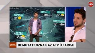 És az megvan, hogy Gesztesi Máté az ATV időjárásjelentője?