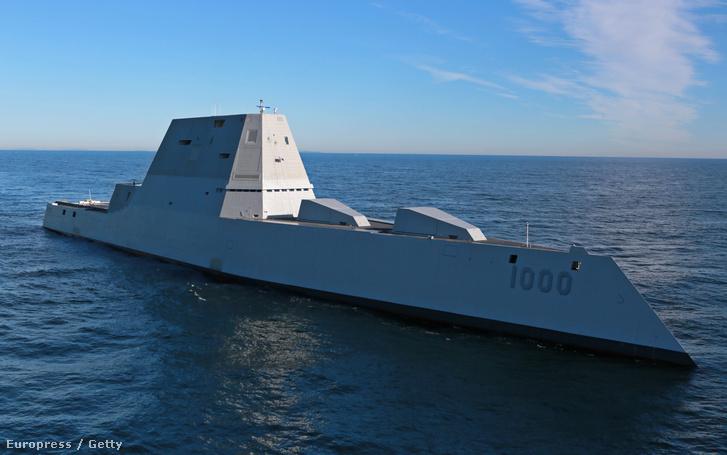 A USS Zumwalt