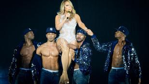 Elég macsó díszlete van a Mariah Carey-turnénak