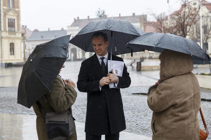Szigetvári Viktor Keszthelyen március 15-én