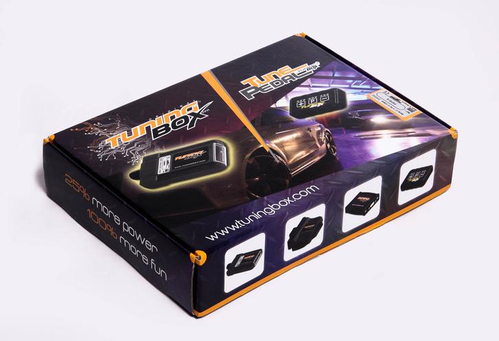 A tuningbox gyári csomagolása