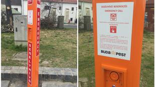 Segélyhívó oszlopot kapott a Szentlélek tér