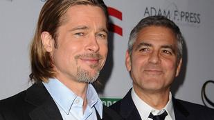 George Clooney újabb gigaszívatásra készül Brad Pitt ellen