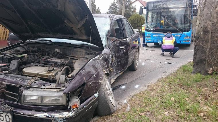 bkv busz vs autó