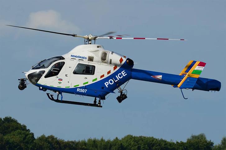 Így nézne ki a helikopter, ha rátennénk a magyar színeket.
