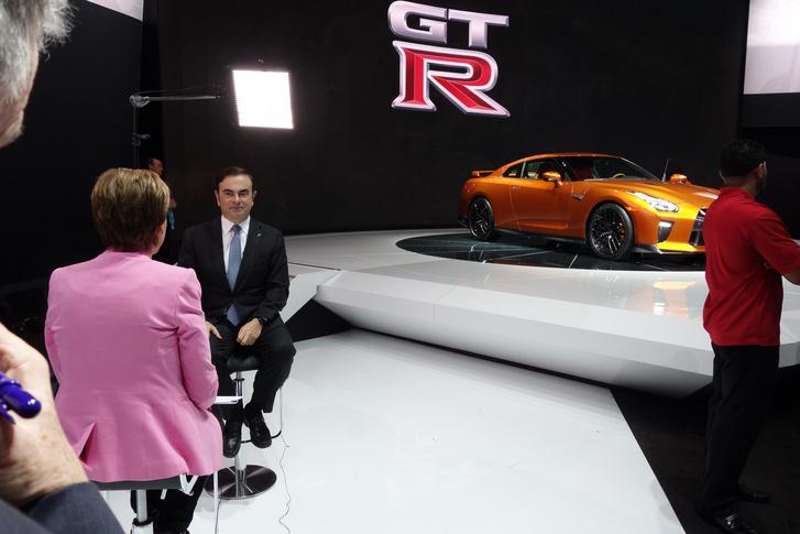 Ghosn interjúzik