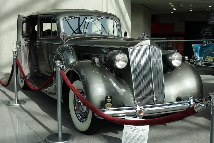 Kedvenc Packardom a veterános részről