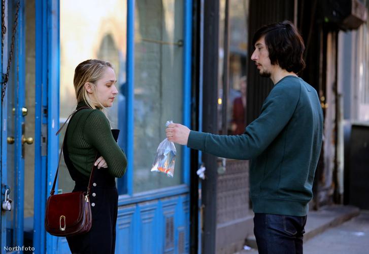 Jemima Kirke és Adam Driver a Girls című sorozatban