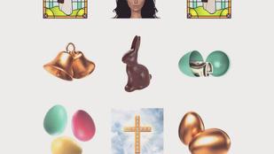 Kim Kardashian egészen bizarr húsvéti emojikkal sokkol