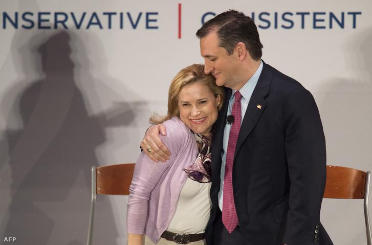 Ted Cruz és felesége