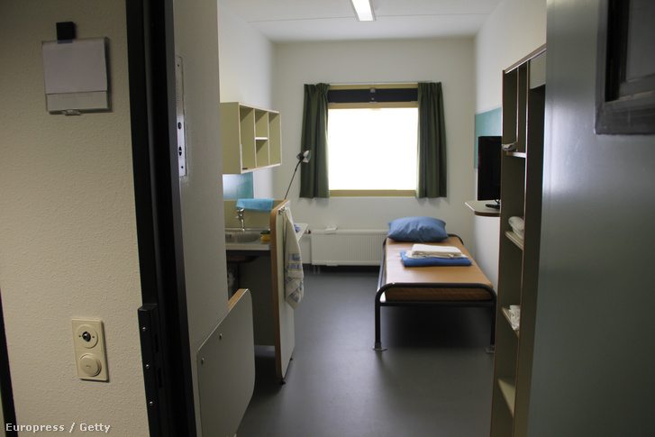 Cellabelső egy holland börtönben